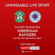 Hibernian v Rangers (Scottish Premier League)