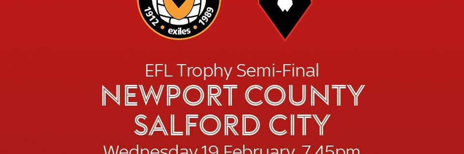 Newport County v Salford City (Football League)