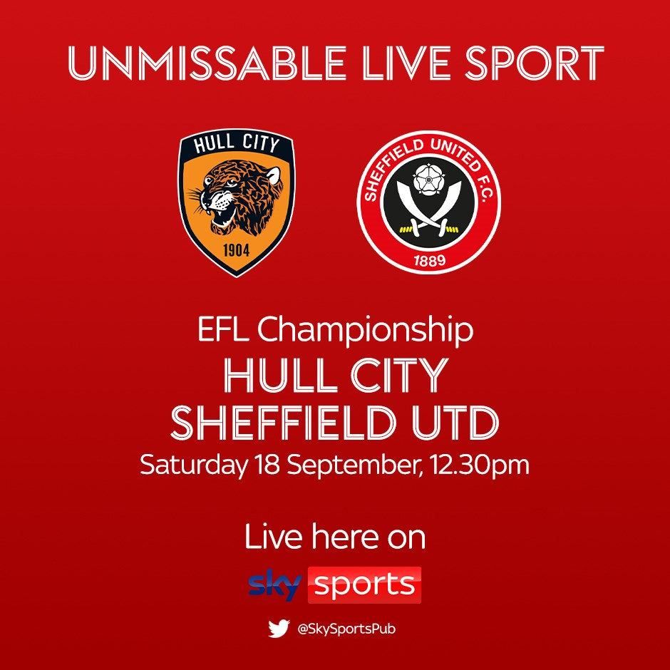 Hull City v Sheffield United (Football League)