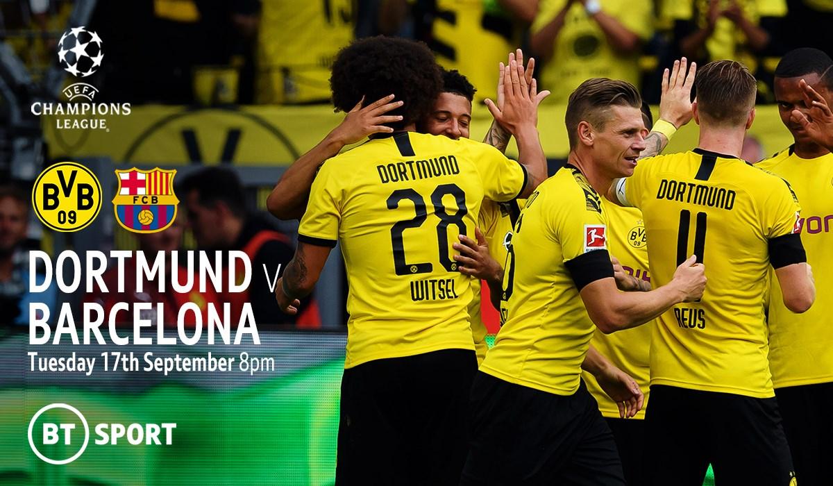 Borussia Dortmund v Barcelona (Champions League)