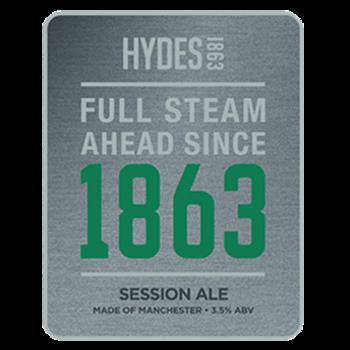 1863 Hydes Beer