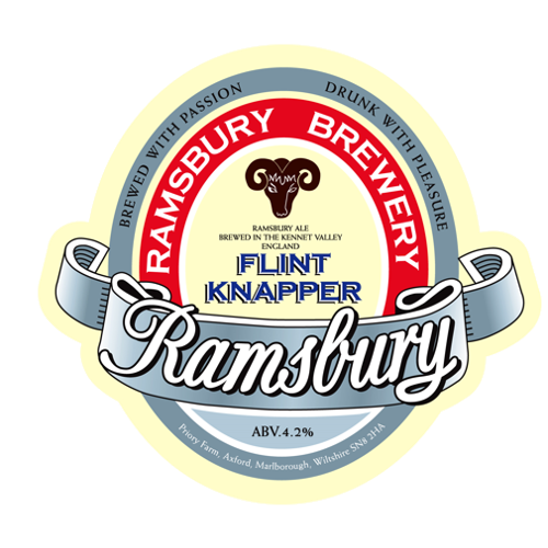 The Ramsbury Brewery Flint Knapper